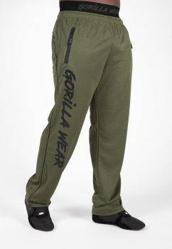 Mercury Mesh Pants - Army Green/Black