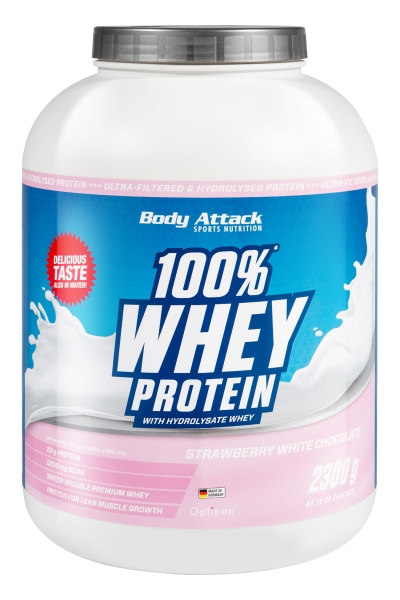 Body Attack 100% Whey Protein - 2,3kg